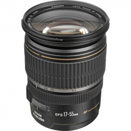 Lente Canon EFS 17 55mm f 2.8 IS USM