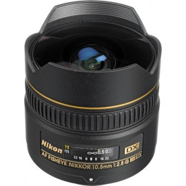 Lente Nikon Fisheye 10.5mm f 2.8G ED DX