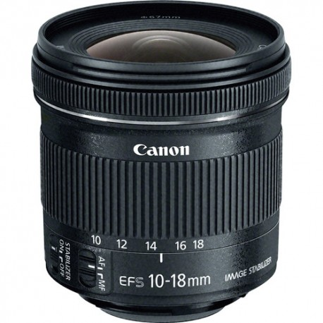 Lente Canon EFS 10-18mm IS STM