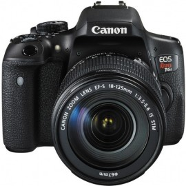 Canon T6i kit 18-135mm IS STM