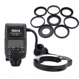 Flash Meike MK-14EXT Macro Ring (Nikon)-frontal