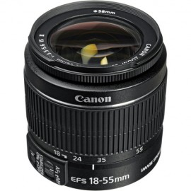 Lente Canon EFS 18 55mm IS II