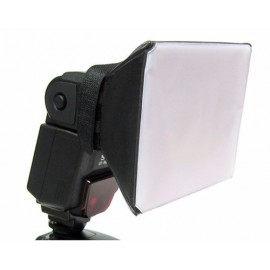 Mini Softbox para Flashes Speedlites Universal