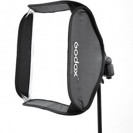 Softbox 60x60 p/ Flash Speedlite