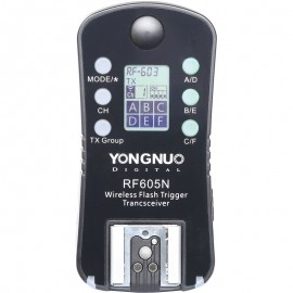 Rádio Flash Yongnuo RF 605N